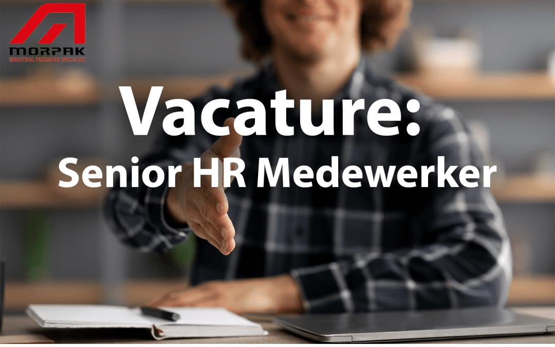 Vacature: Senior HR Medewerker