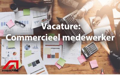 Vacacture: Commercieel medewerker – Salestijger gezocht!